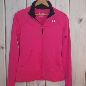 Under Armour Pink Full Zip Jacket Size S